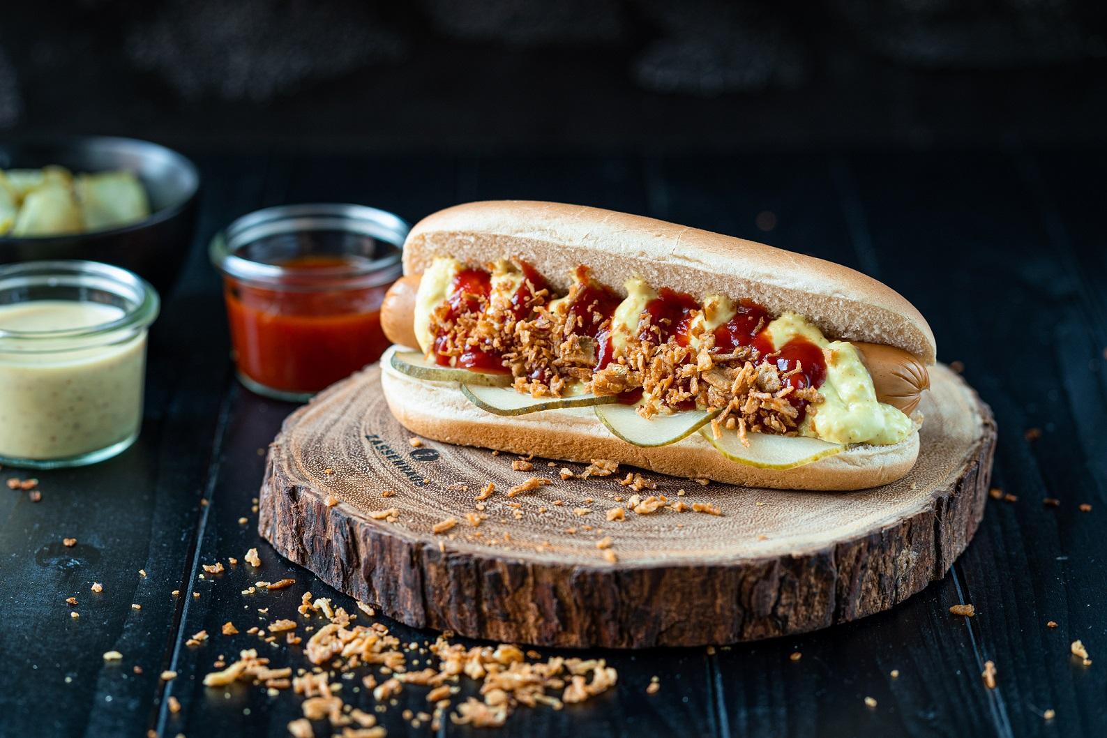 Damhus Hot Dog,  25x60g, zarte Eigenhaut