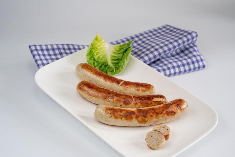 """Bratwurst """"fein"""" mit Kalbfleisch und Putenfleisch, 4x80g"""