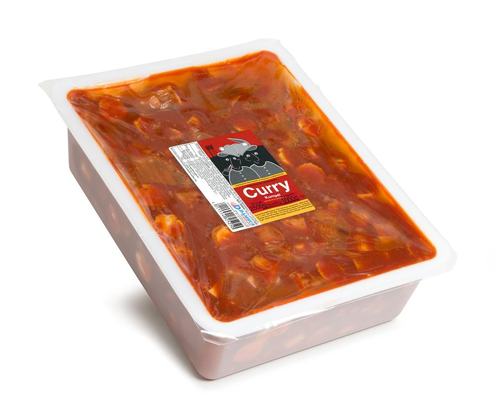 Damhus CurryKumpel, 5000g, (2500g Wurst & 2500g Sauce)
